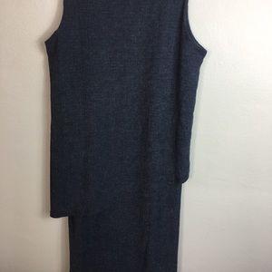 TravelSmith Knit Dress Sz Lg